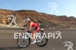 Meredith Kessler on bike at the  Ironman St. George on…