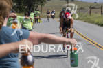 Jordan Rapp heads into an aid station at the 30th…