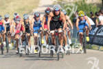 Nicola SPIRIG (SUI) leading on the bike at the 2012…