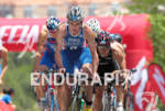 1st Jonathan BROWNLEE (GBR) leading on the bike at the…
