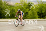 Chris Legh in the bike portion of the 2012 Boise…