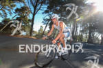 Eric Clarkson on bike at the 2012 Escape from Alcatraz…