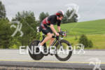 Kevin Taddonio on bike at the Ironman Coeur d' Alene…