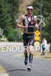 Guy Crawford looking good on run at the Ironman Coeur…