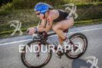 Triathlete Missy Kuck on the bike.
