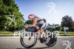 Jeff Paul passing through the streets at the Ironman 70.3…