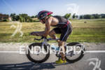 Reeven Nathan on his BMC at the Ironman 70.3 Racine,…