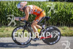 Patrick Evoe riding his Felt DA strong at the Ironman…