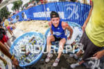 Snapple athlete on ice at the Ironman 70.3 Racine, in…