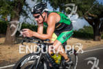 Luke McKenzie on bike at the 2012 Ironman 70.3 Vineman…