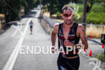 Joe Gambles runs at the 2012 Ironman 70.3 Vineman Triathlon…