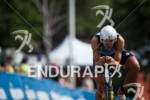 Matthew Russel on the bike at the Ironman Lake Placid…