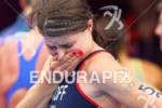 Sarah GROFF (USA) crying after the finish at the 2012…