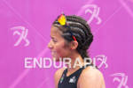 Fabienne SAINT-LOUIS (MRI) after the finish at the 2012 London…