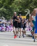 Bevan Docherty, NZL, and Kris Gemmell, NZL, on the run…