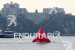 Pro women swim in the Hudson River at the 2012…