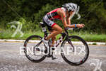 Tamara Kozulina on bike at the 2012 Ironman U.S. Championships…