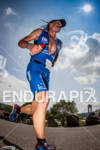 Christian Brader heads out on the run at the 2012…
