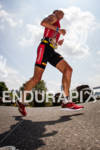 Luke Bell heads out on the run at the 2012…