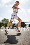 MARKUS THOMSCHKE heads out on the run at the 2012…