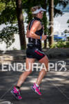 REBEKAH KEAT on the first lap of the run at…