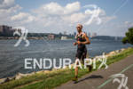 Jordan Rapp runs along the Hudson Rver at the 2012…