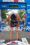 An exhausted Mary Beth Ellis wins at the 2012 Ironman…
