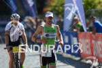 Bart Aernouts on the run portion of  the Ironman 70.3…