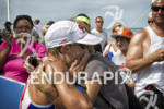 Jessica Jacobs after finishing at Ironman 70.3 Steelhead in Michigan…