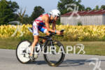 Thomas Gerlach on first lap of the bike course at…