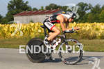 Andrew Hodges on bike at the 2012 Ironman Louisville on…