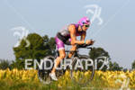 Jared Woodford on his bike at the 2012 Ironman Louisville…