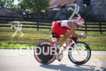 Ed Donner on his bike at the 2012 Ironman Louisville…