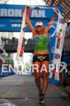 Bree Wee is all smiles at the finish after winning…