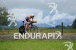 Alessandro Degasperi on the bike at the Ironman 70.3 Zell…
