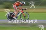 Flo Kriegl on the bike at the Ironman 70.3 Zell…