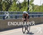 Jodie Stimpson on the bike course at the 2012 HyVee…