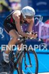 Sarah Haskins on the bike course at the 2012 HyVee…