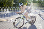 Sarah Groff hammers it on the bike leg of the…