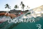 Craig Alexander during his pre-race swim training of the 2012…