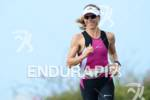Sonja Tajsich during a run workout for  the 2012 Ironman…