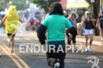 Hairy gorilla chases food down Ali'i drive at the 2012…