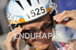 Alicja Medak of Poland  enters  the bike registration area for…