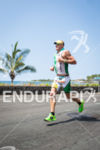 Luke McKenzie out on the run at the Ironman World…