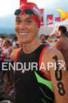 Heather Wurtele looking relaxed prior to the at the Ironman…