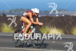 Faris Al-Sultan bikes the Queen K at the Ironman World…