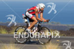 Viktor Zyemtsev powers on bike at the Ironman World Championship…