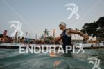 Andreas Raelert preparing for the swim at the Ironman World…