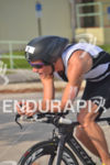 Pro Jav Van Berkel (CHE) riding at the Ironman 70.3…