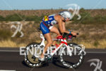 Leanda Cave on bike at the 2012 Ironman Arizona on…